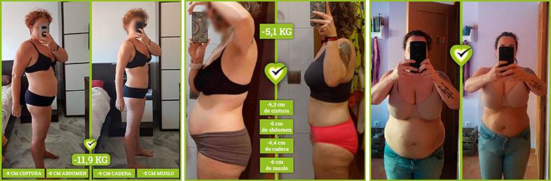 Nuestros clientes lo han conseguido y han perdido peso