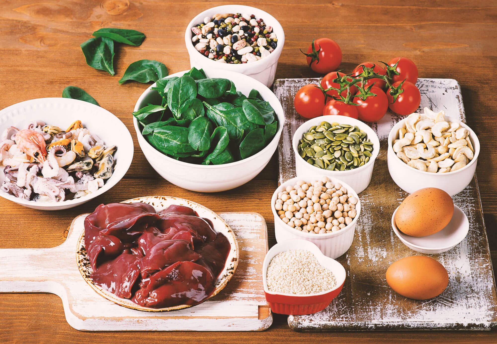 Cómo asegurar el aporte de hierro en nuestra dieta