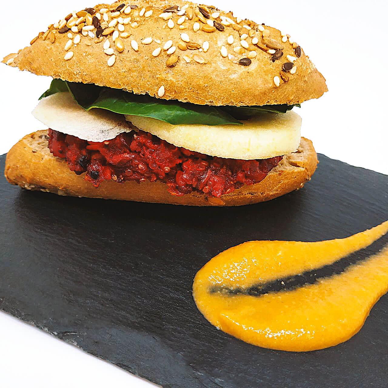 hamburguesa-garbanzos-remolacha